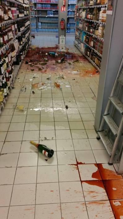 dégâts séisme Martinique 1