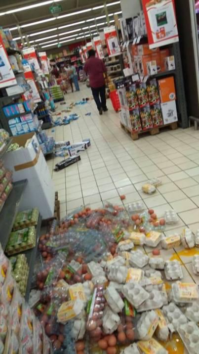 dégâts séisme Martinique 2