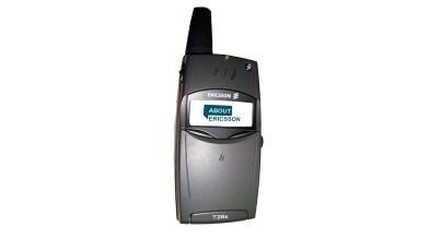 Ericsson T28 sortie en 1999