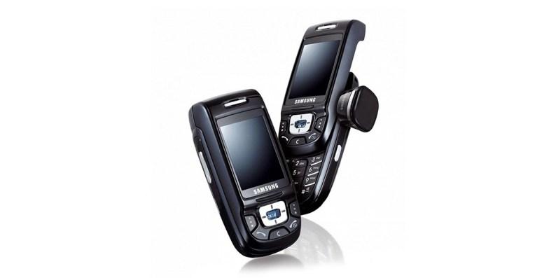 Samsung D500 sortie en 2004