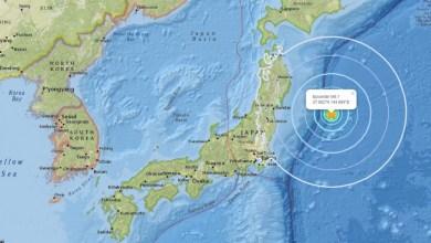 Photo of Un séisme de magnitude 6,1 frappe la côte Est du Japon