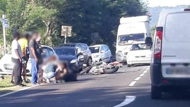 Photo of Un motard blessé dans un accident aux Trois-Ilets