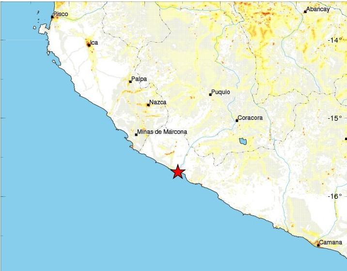 Un séisme de magnitude 7,3 fait deux morts et 65 blessés — Pérou