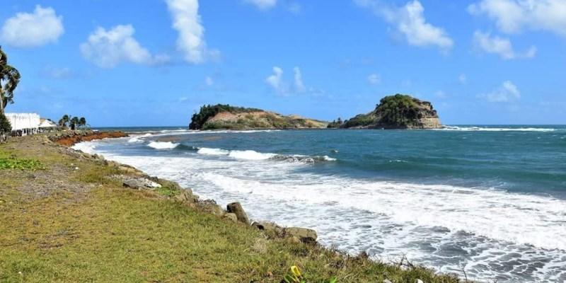 Le Tombolo à Sainte-Marie en Martinique.