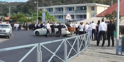 Un dernier hommage rendu à Franco Belizaire au Carbet