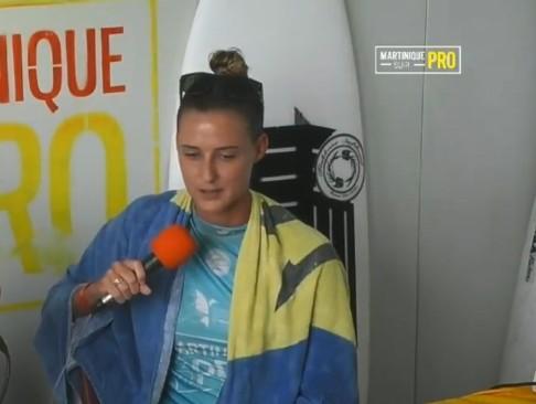 Martinique Surf Pro 2018 : Chelsea Tuach remporte l'épreuve féminine