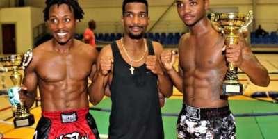 5 jeunes boxeurs vont représenter la Martinique au championnat de France de Kickboxing à Paris