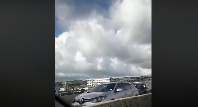 Un carambolage sur la Rocade de Fort-de-France provoque de gros embouteillages