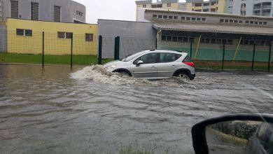 Photo of Montée des eaux à Petit-Manoir au Lamentin, ce vendredi