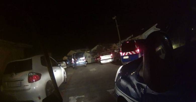 Opération anti-délinquance Ducos. Photo : gendarmerie de Martinique.