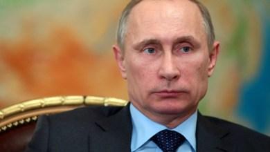 Photo of Vladimir Poutine le président de la Russie en phase d'acheter un rhum Martiniquais