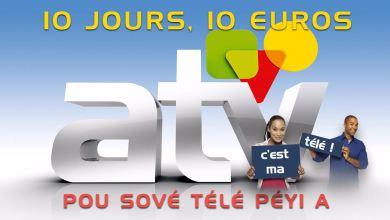 """Photo of ATV a besoin de vous et c'est maintenant """"10 jours, 10 euros"""" pour sauver la télé du pays"""