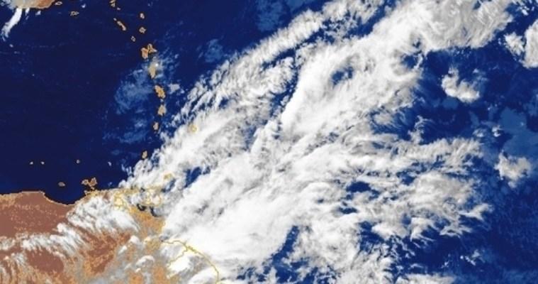 Une onde tropicale peu active en approche de la Martinique