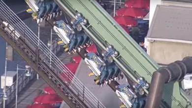 Photo of Japon : plusieurs personnes suspendues à l'envers dans des montagnes russes durant 2H