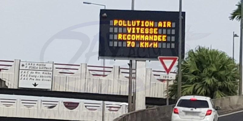 Pollution de l'air : réduction de la vitesse recommandée à 70km/h sur tout le réseau routier