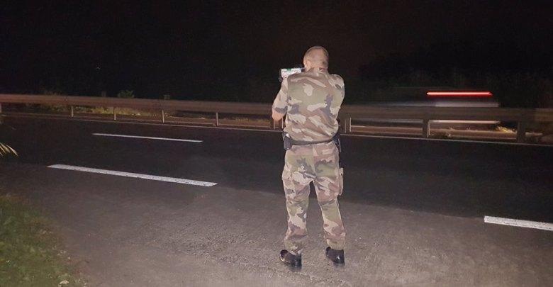 Opération anti-tirages : 8 rétentions du permis de conduire dont un flashé à 140km/h au lieu des 70 autorisés