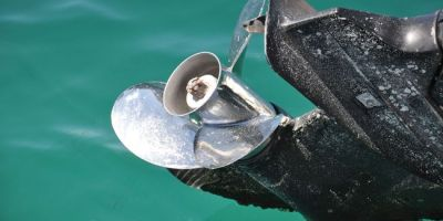Hélice d'un bateau