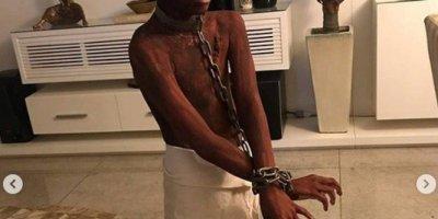 Brésil : une mère déguise son fils de 9 ans en esclave noir avec des chaînes pour Halloween