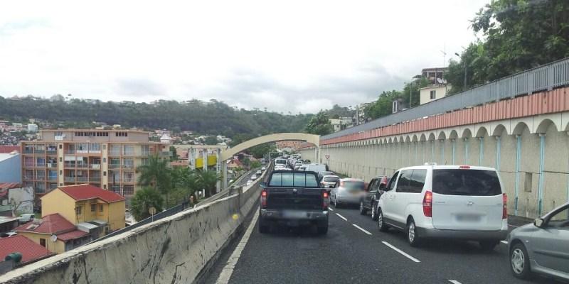 Circulation très difficile sur les routes du centre de la Martinique, ce jeudi matin