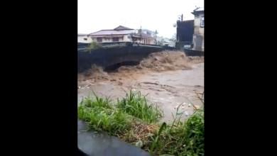 Photo of (VIDÉO) De fortes pluies se sont abattues sur Saint-Pierre à la mi-journée