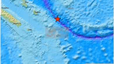 Photo of Deux puissants séismes frappent la Nouvelle-Calédonie. L'alerte tsunami déclenchée a été levée