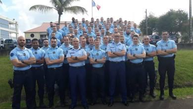 Photo of 72 nouveaux gendarmes sont arrivés en Martinique. Ils feront partie du dispositif de sécurisation du carnaval