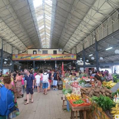 Réouverture du grand marché couvert de Fort-de-France