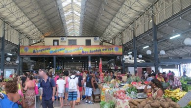 Photo of Réouverture du grand marché couvert de Fort-de-France