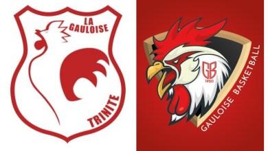 Photo of La Gauloise de Trinité section Basket change de logo