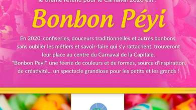Photo of Bonbon Péyi » : thème du carnaval 2020 à Fort-de-France