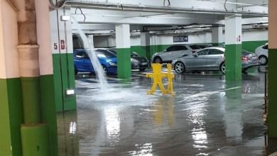 Photo of Fortes pluies : le parking du sous-sol de la Galleria n'est pas en reste (VIDÉO)