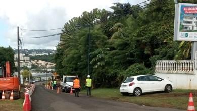Photo of Des travaux d'aménagement de trottoirs et de sécurisation à Acajou Lamentin