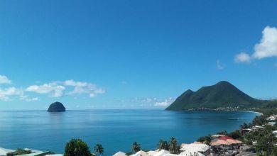 Photo of Une mer d'huile et une vue exceptionnelle en Martinique avec la panne d'alizés provoquée par la tempête tropicale Sébastien