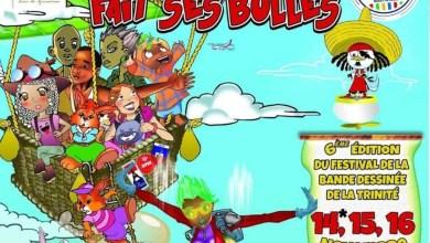 Photo of 6e édition du festival de la bande dessinée de la Trinité du 14 au 16 novembre