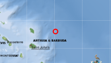 Photo of Un séisme modéré enregistré au large d'Antigua et Barbuda