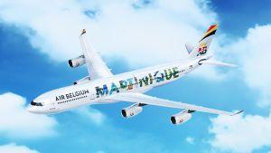 Les avions d'Air Belgium aux couleurs de la Martinique et de la Guadeloupe