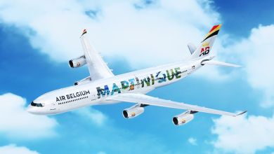 Photo of Les avions d'Air Belgium aux couleurs de la Martinique et de la Guadeloupe