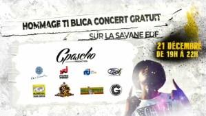 Un grand concert gratuit en hommage à Ti-Blica sur la Savane de Fort-de-France le 21 décembre