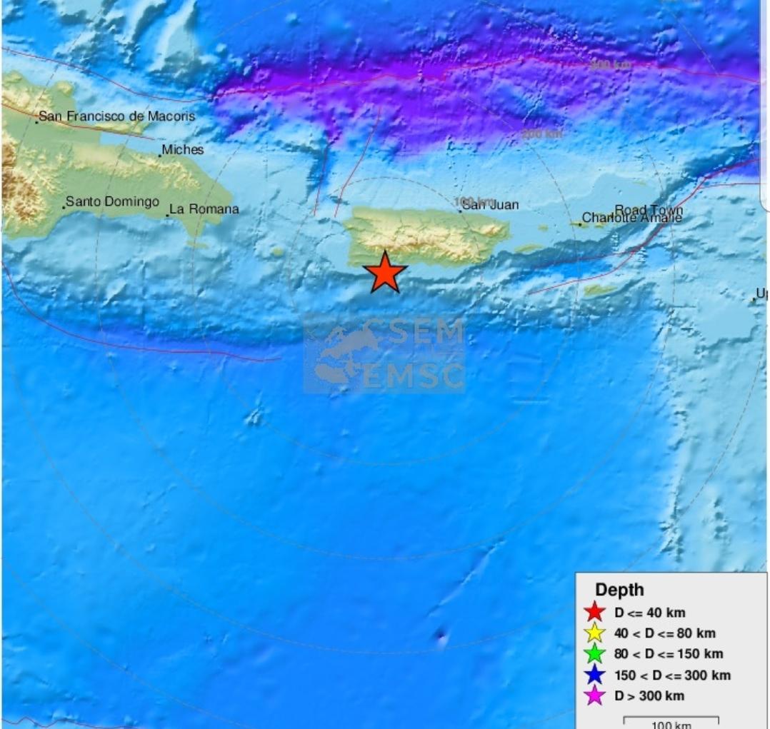 Un nouveau séisme de 6,0 ressenti samedi à Porto Rico