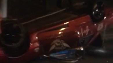 Photo of Accident sur l'autoroute au niveau du pont de Chateauboeuf. Une bwadjak sur le toit