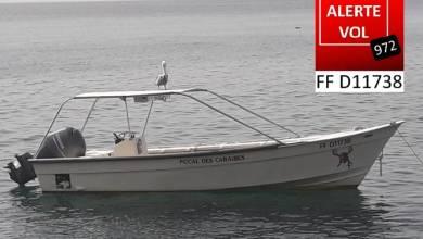 Photo of Un bateau volé à Schoelcher retrouvé quelques heures plus tard à Saint-Vincent
