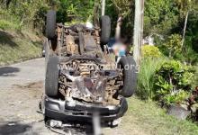 Photo de Un homme perd la vie dans un dramatique accident de voiture au Saint-Esprit