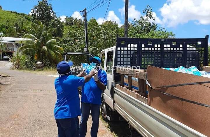 Distribution bouteilles d'eau Ducos