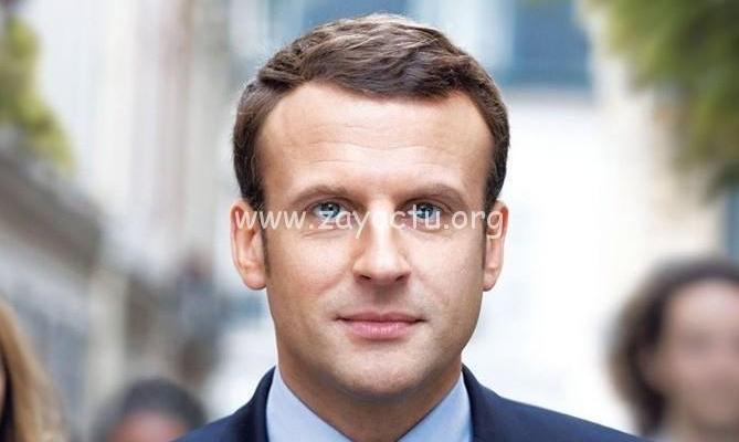 Emmanuel Macron le président de la République