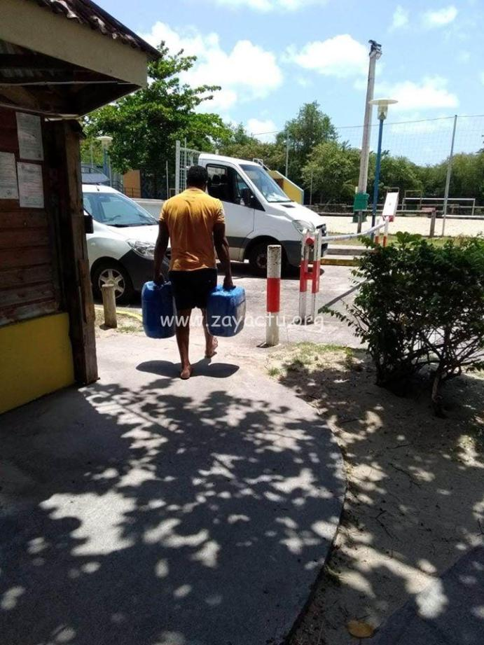 Récupération d'eau à Sainte-Luce