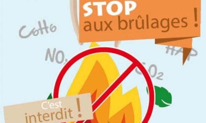 Stop au brûlage