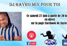 Photo de Session mix : Dj Hayro mixera en direct sur la page Facebook de ZayActu, ce samedi à partir de 20 heures