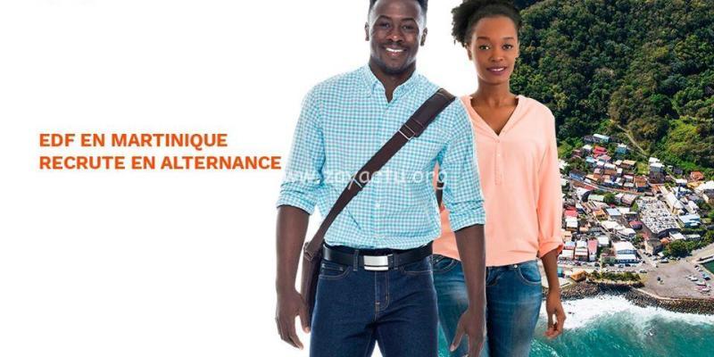 EDF Martinique recrute