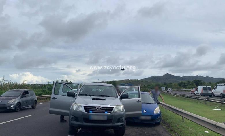 Un automobiliste arrêté par les forces de l'ordre à Rivière-Salée