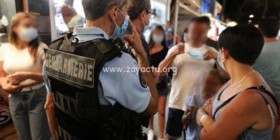Contrôle de gendarmes